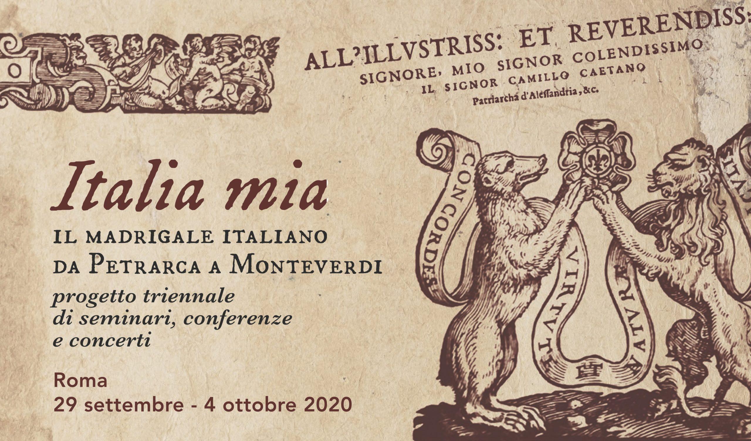 Italia mia slide